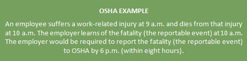 insurance, horst insurance, OSHA 300, OSHA scenario