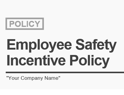 insurance, horst insurance, sample employee safety incentive policy, employee safety incentive policy template, osha