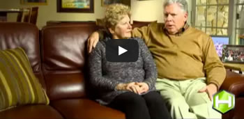 A video testimonial with the Randalls
