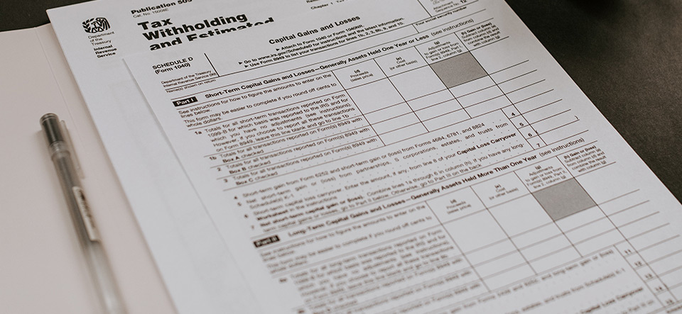 IRS tax documents