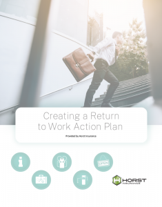 Creating a Return to Work Action Plan Guide cover image