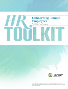 HR Toolkit onboarding Remote Employees