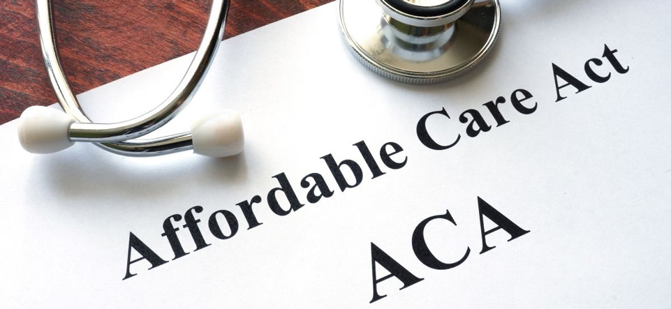 Document that says Affordable Care Act ACA